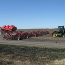 Seeding at Cawkwell Farms.
