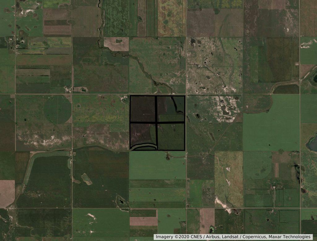 section farm land